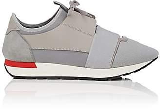 Balenciaga Men's Race Runner Sneakers - Gray
