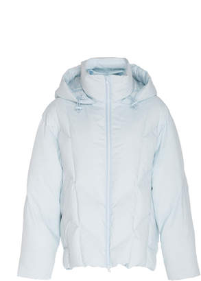 Vince Hooded Shell Puffer Jacket