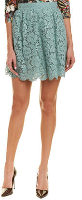 Valentino Silk-Lined Mini Skirt