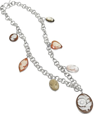 Nuovegioie Mia & Beverly Cameo Charm Necklace