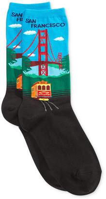 Hot Sox Women Golden Gate Socks