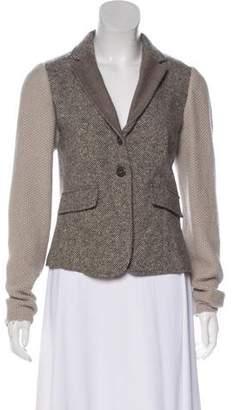 Fabiana Filippi Virgin Wool Tweed Jacket