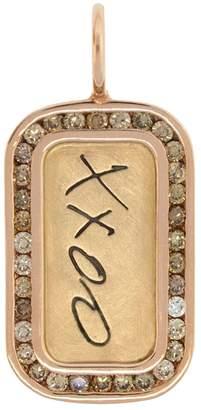 Heather B Moore Diamond XXOO Charm