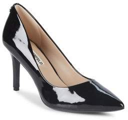 Karl Lagerfeld Paris Royale Patent Leather Pointy Pumps