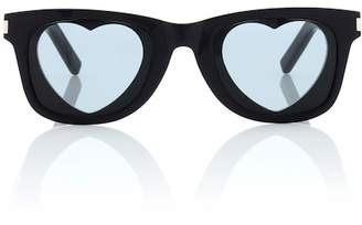 Saint Laurent Classic SL 51 Heart sunglasses