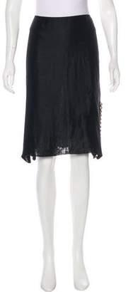 Lanvin Silk Knee-Length Skirt