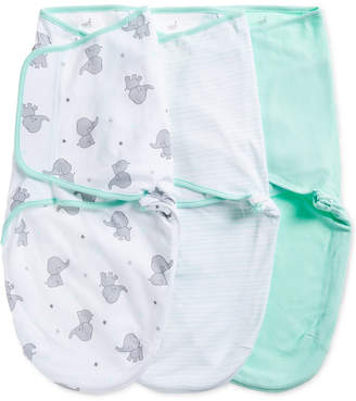 Aden Anais aden by aden + anais Baby Boys & Girls 3-Pk. Elephant Splash Cotton Wrap Swaddles