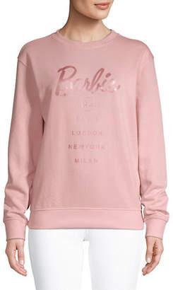 Missguided Barbie City-Printed Sweatshirt