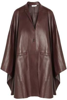Givenchy Bordeaux Leather Cape