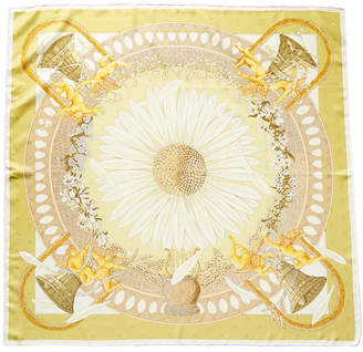 Hermes Amours By Annie Faivre Silk Scarf