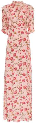 By Ti Mo By Timo floral print wrap dress