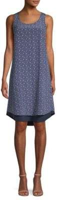 Tory Burch Sydney Floral-Print Silk Shift Dress