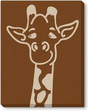 Giraffe Limited Edition on Canvas