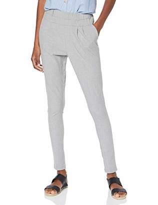 Kaffe Women's's Jillian Pants Trousers Light Grey Melange 50013