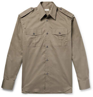 Dries Van Noten Oversized Cotton-Twill Shirt