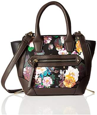 Del Mano Multi Floral Print Cross Body Convertible Bag
