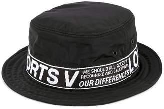 Ports V logo flat fedora hat