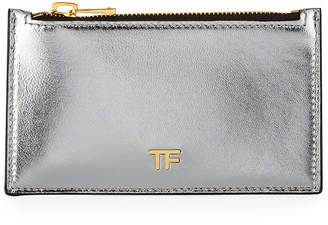 Tom Ford Laminated Large Zip Wallet
