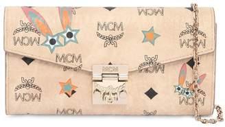MCM Millie Star Bunny Printed Shoulder Bag