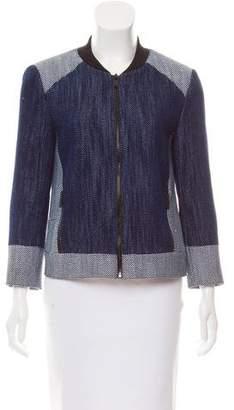 Tibi Structured Woven Jacket