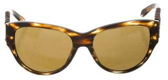 Burberry Marble Cat-Eye Sunglasses