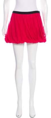 Haute Hippie Mesh Mini Skirt