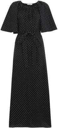 Marysia Swim Moonstone Polka Dot Maxi Dress