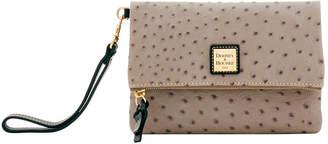 Dooney & Bourke Ostrich Foldover Wallet