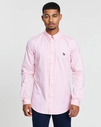 Paul Smith Tailored Long Sleeve Button-Down Shirt
