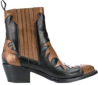 Sartore western appliqué boots