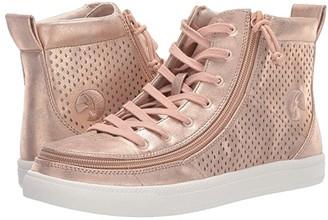 BILLY Footwear Classic Lace High Metallic