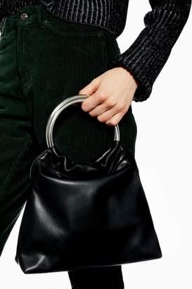 Topshop Tara Soft PU Tote Bag