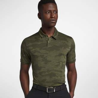 Nike Zonal Cooling Men's Camo Golf Polo