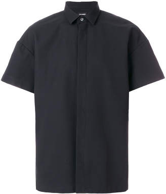 Les Hommes boxy fit short sleeves shirt
