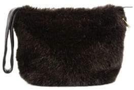 Victoria Beckham Leather Key Ring Bag