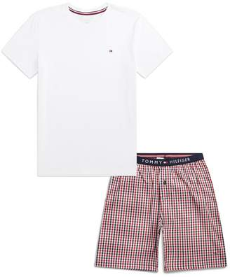 Tommy Hilfiger T-Shirt And Shorts Pyjamas