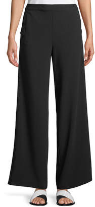 Kensie Side-Striped Wide-Leg Pants