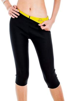 Prime Shaper Sauna Sweat Slimming Capri Pants - Large