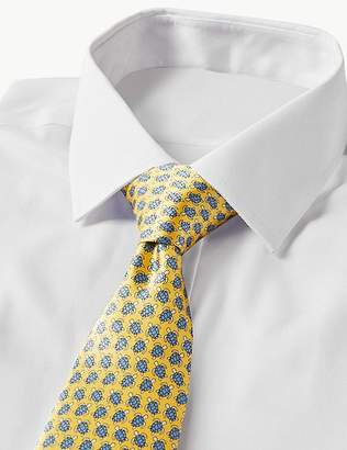 Marks and Spencer Pure Silk Turtle Print Tie