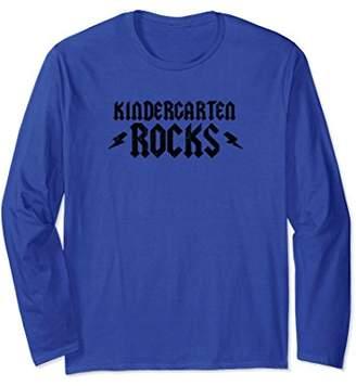Lightning Bolt Kindergarten Rocks K5 Long Sleeve Shirt