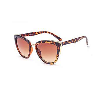 Skyway Luggage Retro Vintage Cat Eye Sunglasses for women Goggles Metal Frame Classic Style UV Protection ()