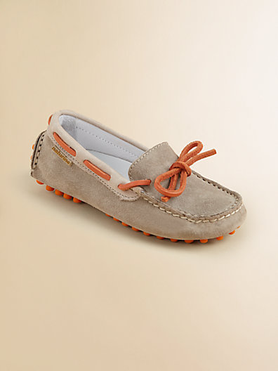 Naturino Toddler's & Boy's Suede Driver Moccasin