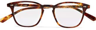 Mr Leight Getty C Square-Frame Tortoiseshell Acetate Optical Glasses