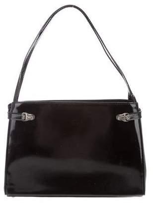 Anya Hindmarch Patent Leather Ebury Tote Black Patent Leather Ebury Tote