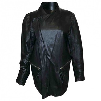 Damir Doma Black Leather Jackets