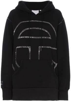 Telfar embroidered logo hoodie
