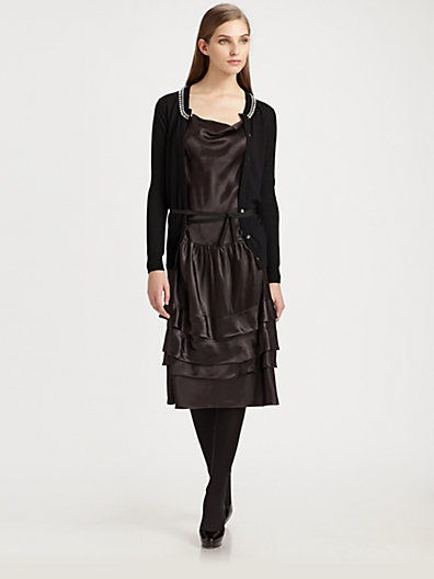 Sacai Luck Cardigan Dress