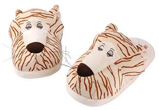 Aerusi Tiger Animal Plush Slipper