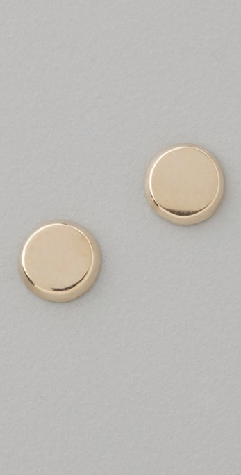 Lena Wald Circle Stud Earrings