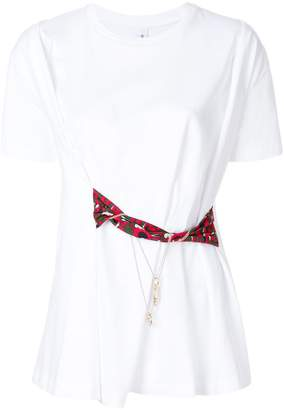 Carven waist-tied T-shirt